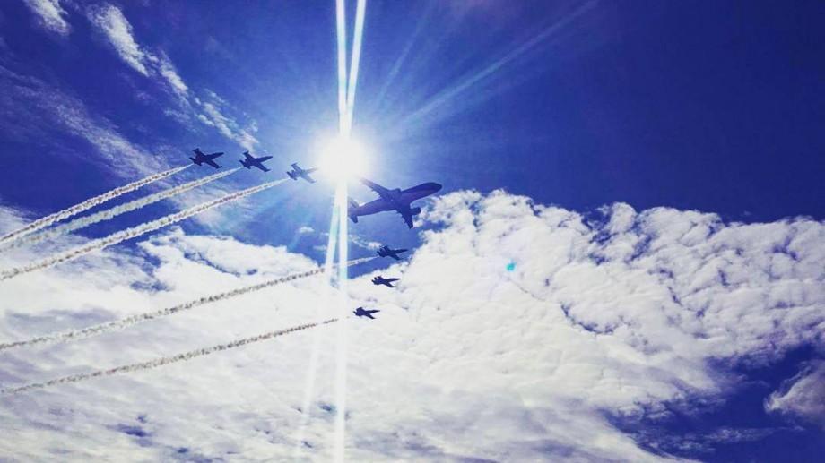 (foto, video) Cum se vede online cel mai mare show aviatic al anului de pe Aeroportul din Chișinău