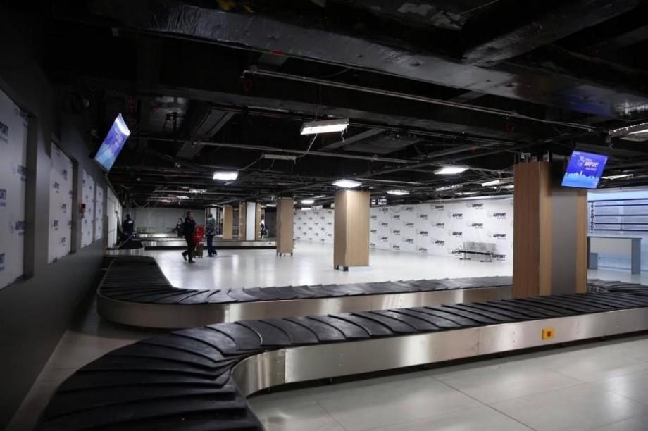 (foto) Zona de eliberare a bagajelor la aeroportul din Chișinău a fost extinsă