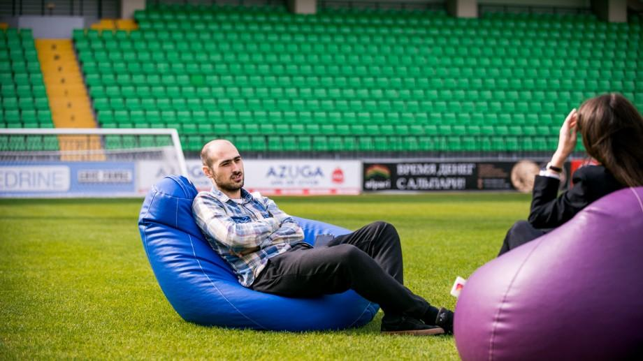(foto) Serge Kino, despre modernizarea stadionului Zimbru și planurile Federației Moldovenești de Fotbal