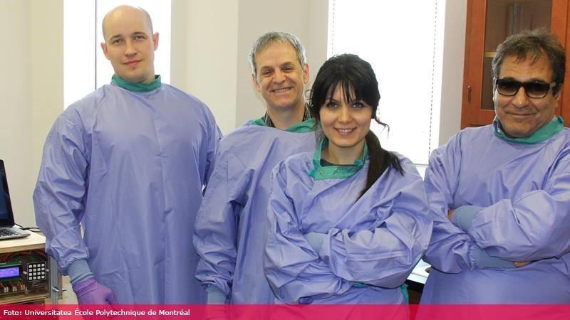 Un inginer moldovean lucrează cu o echipă canadiană la o nouă metodă de tratare a cancerului