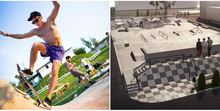 (foto) Detalii despre cum ar putea arăta primul skatepark din Chișinău și unde va fi ridicat