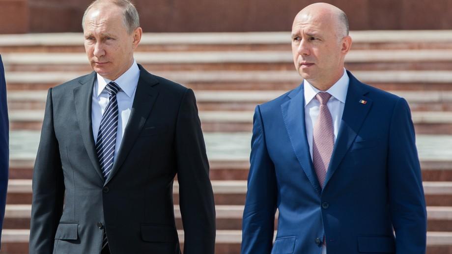 (foto) Pavel Filip în discutații cu Vladimir Putin. Ce a discutat premierul cu cel mai influent politician din lume