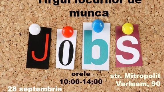 """Ești în căutarea unui loc de muncă? Vino pe 28 septembrie la """"Târgul locurilor de muncă"""""""