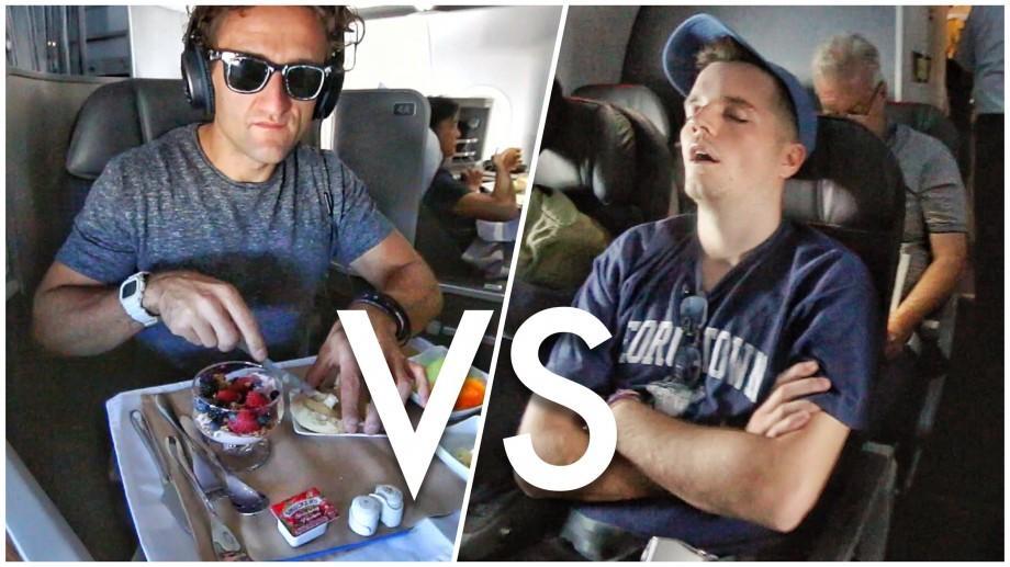 (video) Așa se zboară cu avionul la First Class, unde un bilet costă 21 000 euro