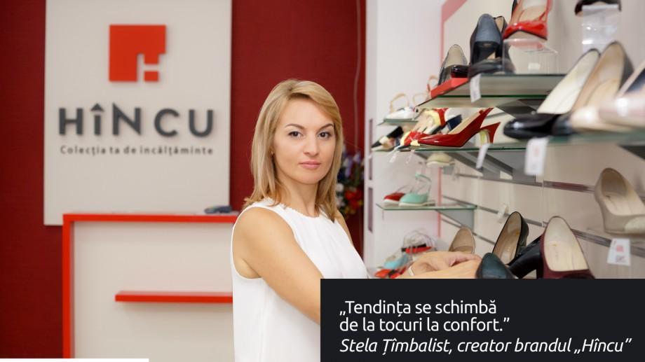 """(video) Stela Țîmbalist, managerul fabricii de încălțăminte """"HÎNCU"""": """"Tendința se schimbă de la tocuri la confort"""""""