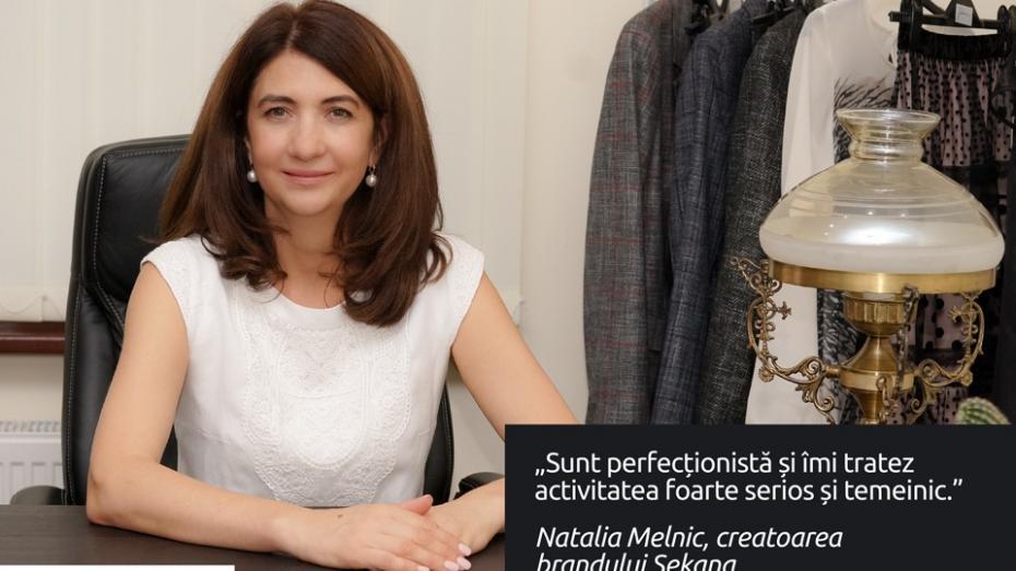 """(foto, video) Natalia Melnic, designerul """"Sekana"""": Căptușeala trebuie să fie la fel de frumoasă ca și fața hainei"""