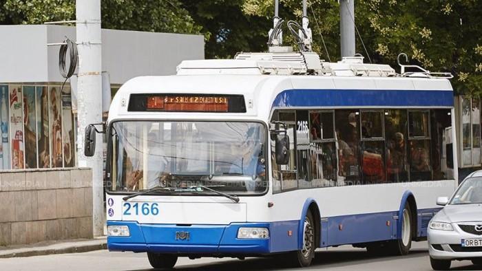 Primăria a anunțat că începând 1 septembrie a fost anulată o rută de troleibuz