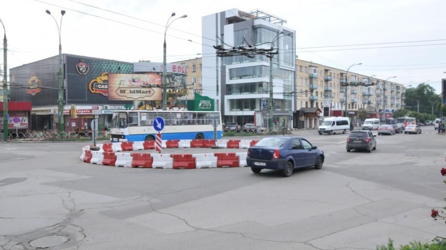 La Chișinău vor mai apărea două sensuri giratorii. Unde acestea vor fi instalate