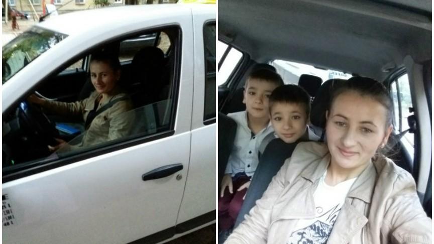 Povestea tinerei din Chișinău care a devenit șoferiță de taxi pentru a-și întreține cei doi copii
