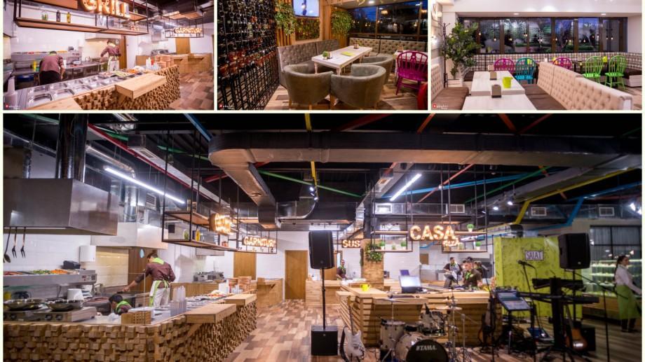 """(foto) Călătorește pe continentele gastronomice și simte-te ca acasă la """"Salat"""", un nou local din Capitală"""