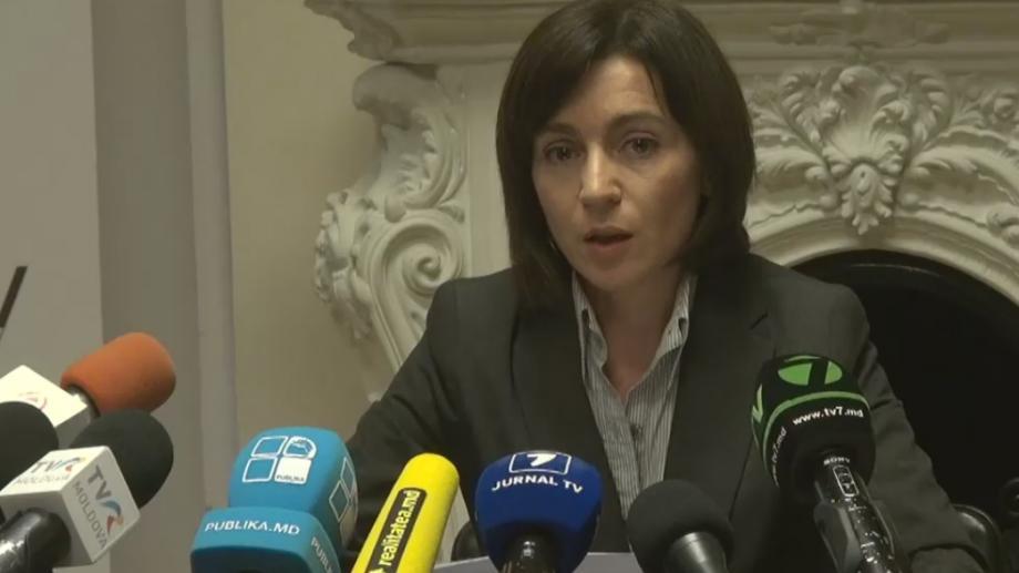 (video) Maia Sandu a cerut instalarea camerelor de supraveghere în secțiile de votare
