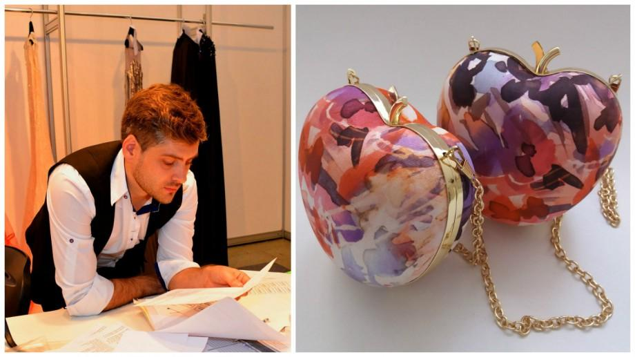 """(foto) Un tânăr din Moldova, stabilit în Dubai, creează cele mai """"apetisante"""" clutch-uri"""