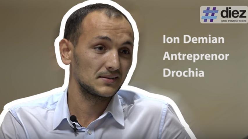 (video) Unde-s tinerii: Ion Demian, despre cum poate deveni Drochia o destinație turistică modernă