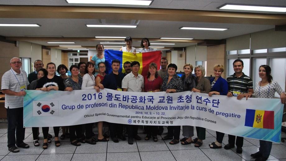 20 de profesori de informatică participă la instruiri în Coreea de Sud