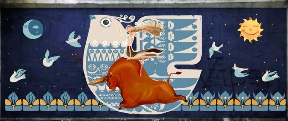 (foto) Noi picturi murale au apărut pe zidurile fostului Stadion Republican din Chișinău