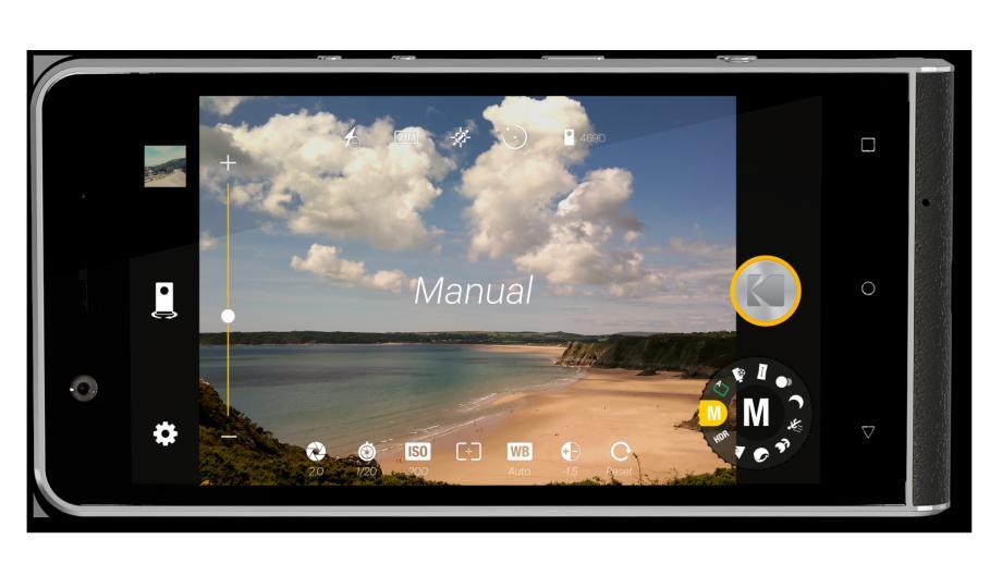 Kodak a lansat un smartphone special pentru fotografi