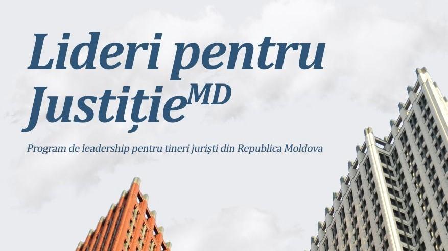 Tinerii juriști din Moldova pot participa gratuit într-un program de leadership