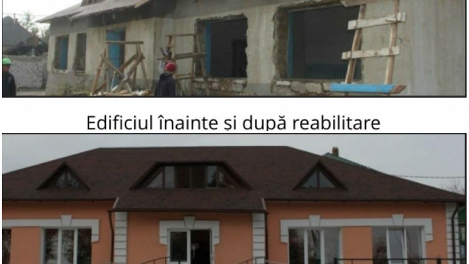 (foto) Lucrările de reabilitare a clădirii Muzeului local din Ruseștii Noi sunt pe ultima sută de metri