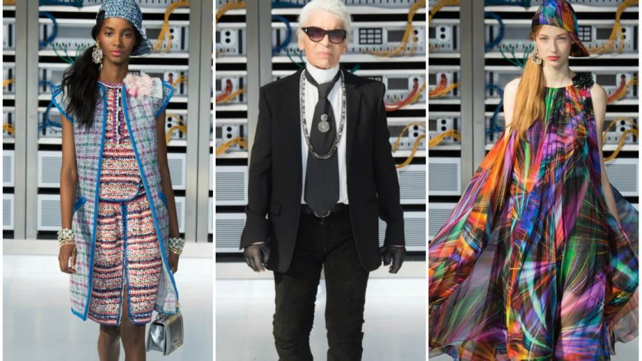 (foto) Spectaculos! Chanel a transformat Grand Palais-ul în interiorul unui computer uriaș