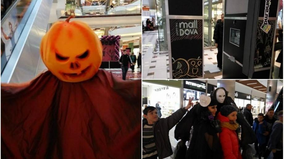 (live text, foto) La Shopping MallDova s-a dat startul celei mai fioroase petreceri de Halloween