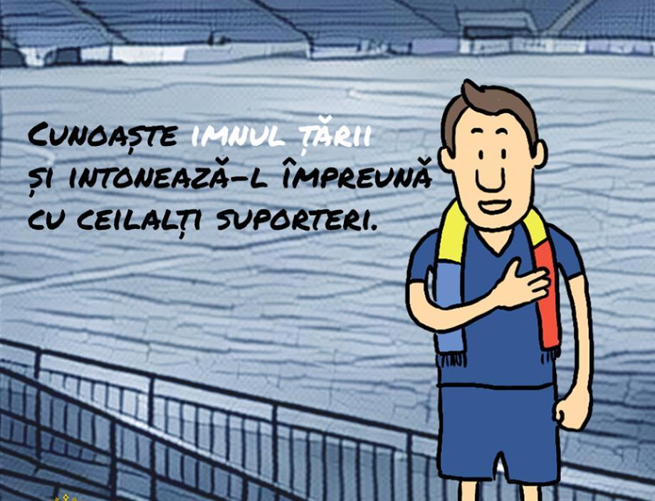 (foto) Câteva ilustrații ce ne îndeamnă să fim suporteri disciplinați la meciul Moldova – Serbia