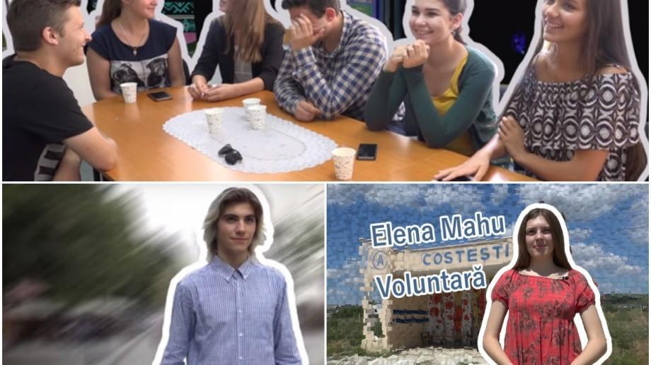 """""""Unde-s tinerii"""" – un proiect #diez prin care vă facem cunoștință cu cei mai activi tineri din țară"""