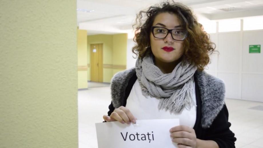 (video) Mesajul studenților pentru candidații la prezidențiale: Votăm pentru educație