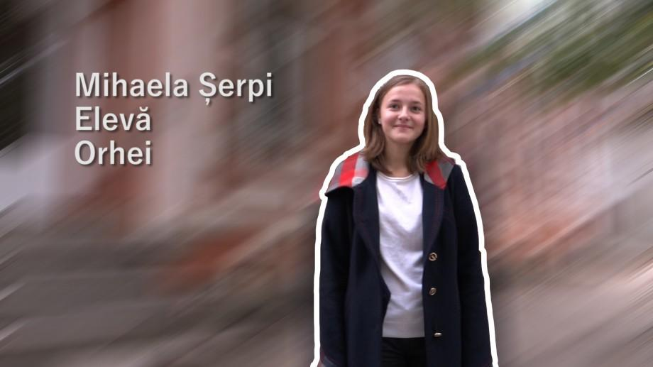 (video) Unde-s tinerii. Mihaela Șerpi, Orhei: Voluntariatul înseamnă curaj și nebunie frumoasă
