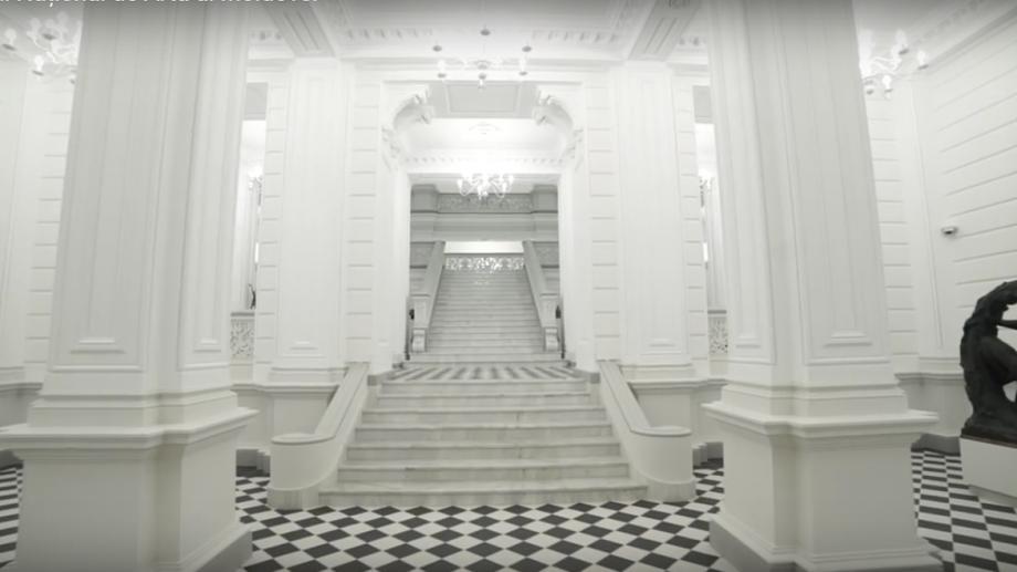 """Fascinant! Imagini video din interiorul sediului central """"Dadiani"""" al Muzeului Național de Artă al Moldovei"""