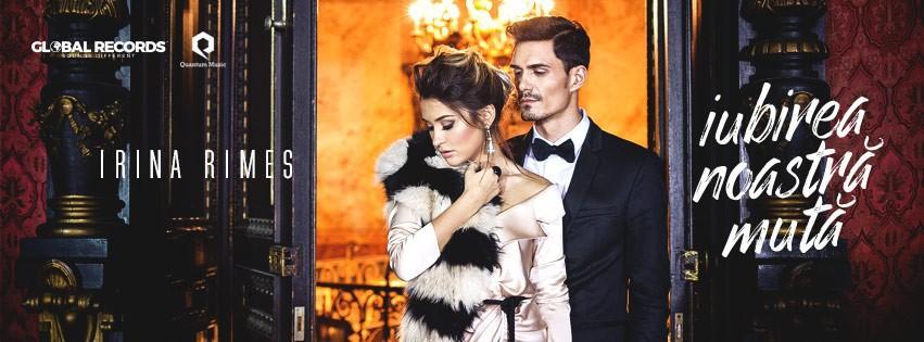 """(foto, video) Irina Rimes colaborează din nou cu Roman Burlaca și lansează clipul piesei """"Iubirea noastră mută"""""""