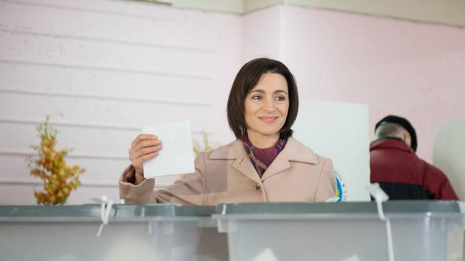 Încă un partid din Moldova își îndeamnă susținătorii să o voteze pe Maia Sandu