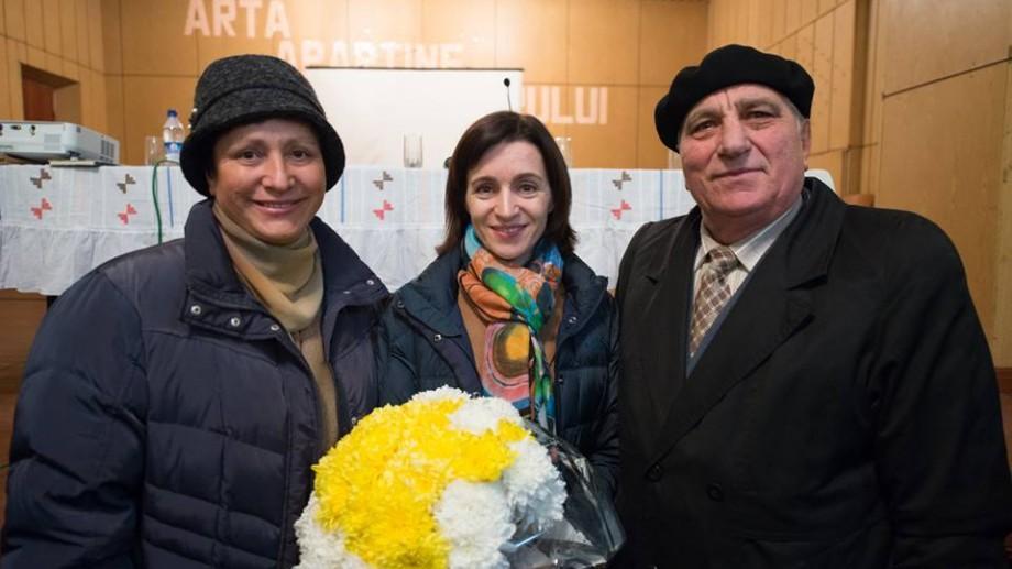 """(video) Maia Sandu: """"O societate își măsoară succesul după grija pe care o poartă bătrânilor"""""""