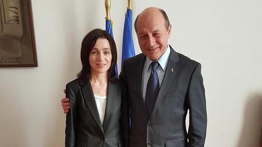 """Traian Băsescu comentează rezultatul obținut de Maia Sandu. """"A fost sabotată și trădată"""""""