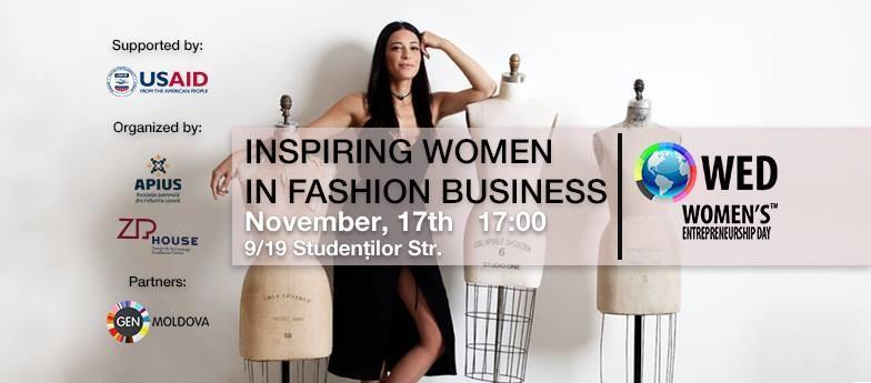 Inspiring Women in Fashion Business – eveniment pentru tinerii ce aspiră să-și croiască un viitor în lumea modei