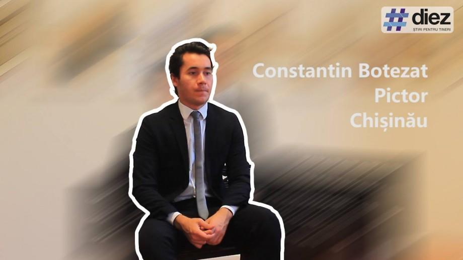 (video) Unde-s tinerii. Constantin Botezat, pictorul basarabean care a sensibilizat Europa și America prin talent și creativitate