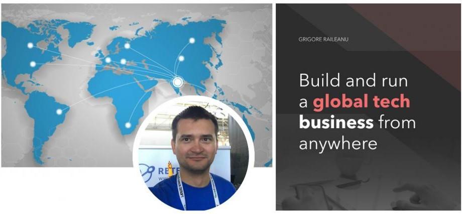 """""""Construiește o afacere tehnologică globală de oriunde"""" – prezentarea unei cărți pentru antreprenorii în devenire"""