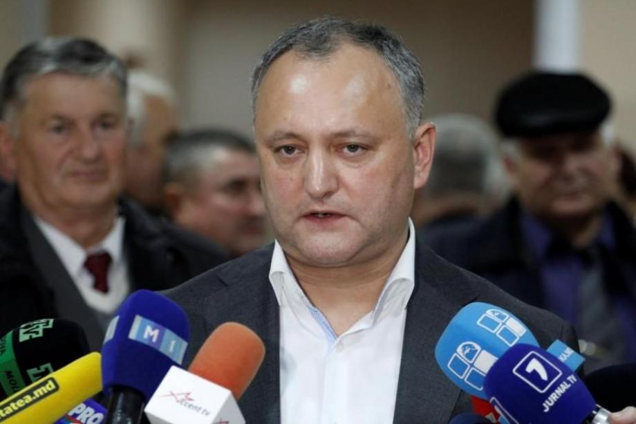 Ce i-a transmis Igor Dodon lui Klaus Iohannis de Ziua Națională a României