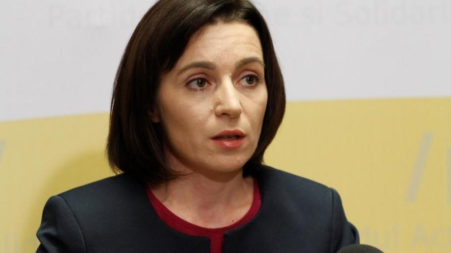 """Maia Sandu lansează campania """"La revedere, Dodon"""": """"Pentru mine Dodon nu mai există"""""""