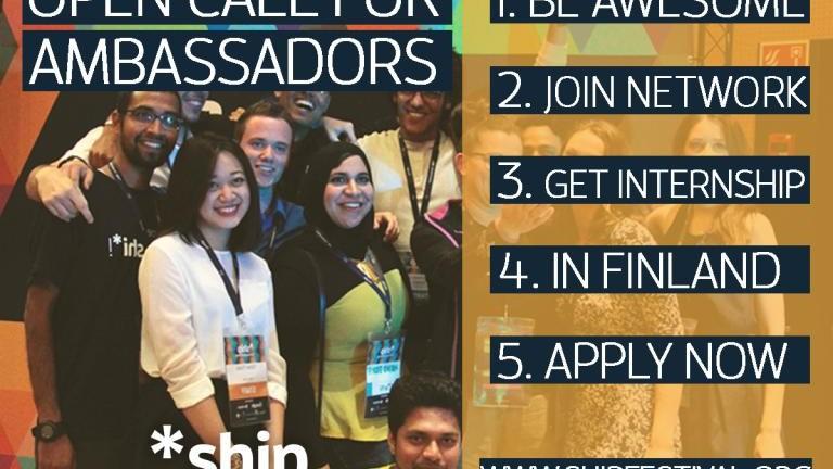 Câștigă un stagiu plătit de trei luni în Finlanda devenind ambasador al unui festival de startup