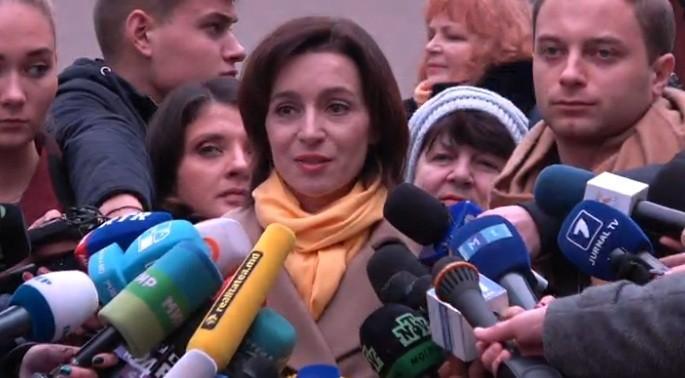 Maia Sandu, nemulțumită de noul președinte al CC, Vladimir Țurcan și amenință că va acționa în consecință