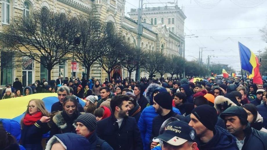 LIVE VIDEO. Protest în PMAN și în fața CEC! Tinerii cer alegeri repetate fără fraude