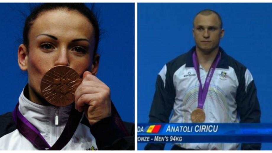Halterofilii olimpici Iovu și Cîrîcu au fost obligați să întoarcă medaliile olimpice