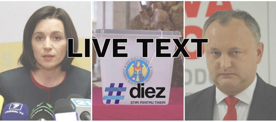 LIVE TEXT/VIDEO. Informație la minut despre turul II al Alegerilor Prezidențiale 2016