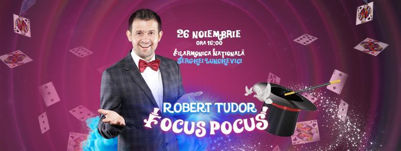 """Participă la cel mai impresionant spectacol de magie pentru copii – """"Focus Pocus"""""""