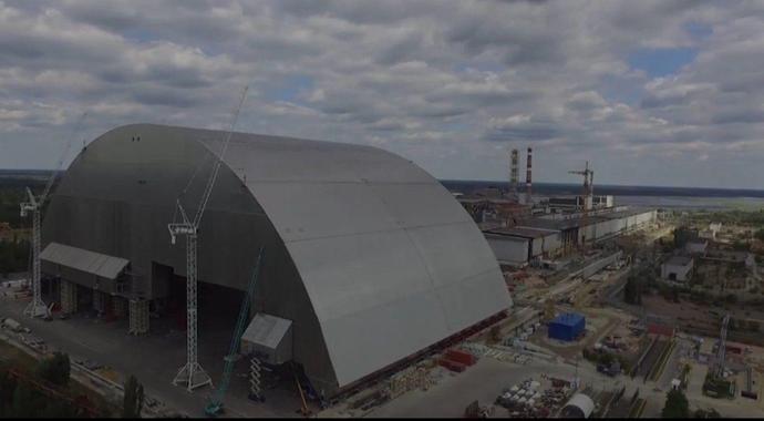 (video) Ucraina inaugurează domul de oțel la reactorul avariat de la Cernobîl