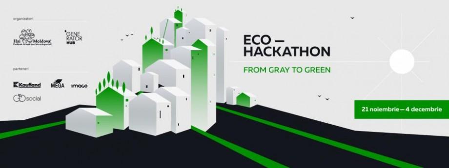 Hai Moldova și Generator Hub vă invită la primul Eco-Hackaton din Moldova. Detalii