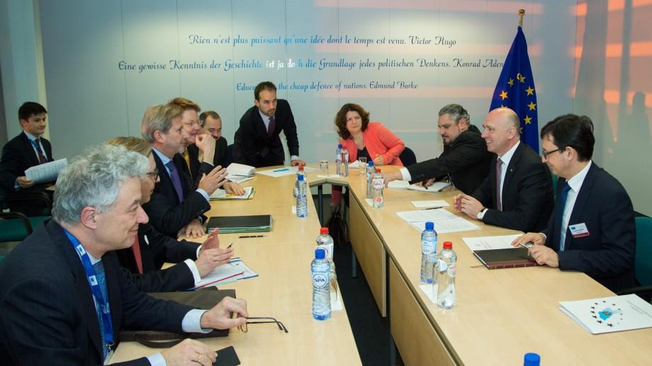 Moldova va primi 45 milioane de euro suport bugetar din UE