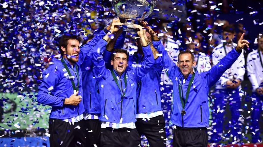 Argentina a câștigat pentru prima oară Cupa Davis, după 3-2 în finala cu Croația