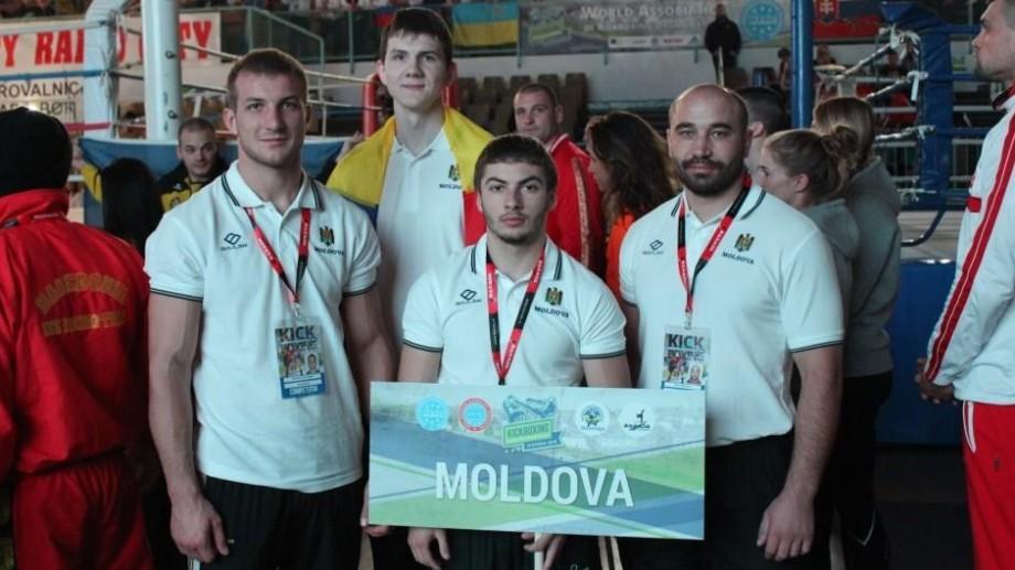 Două medalii de bronz pentru Moldova la Campionatul European de Kickboxing
