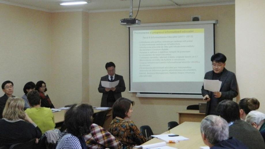 Încă 25 de profesori de informatică au făcut schimb de experiență cu specialiști din Coreea de Sud